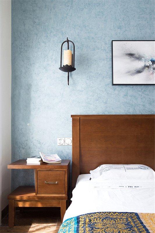124㎡现代中式卧室装饰