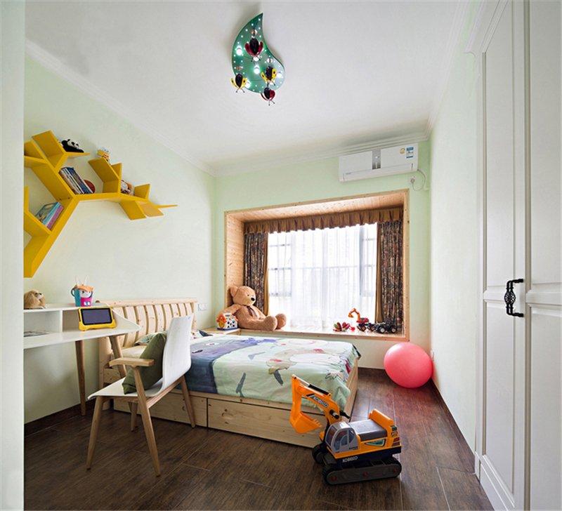 124㎡现代中式儿童房装饰