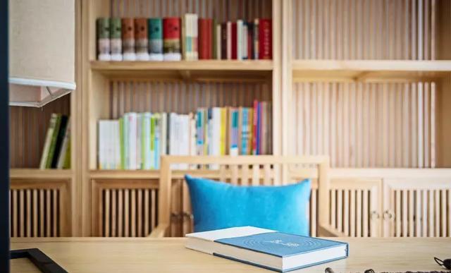 130㎡新中式风格书房装饰