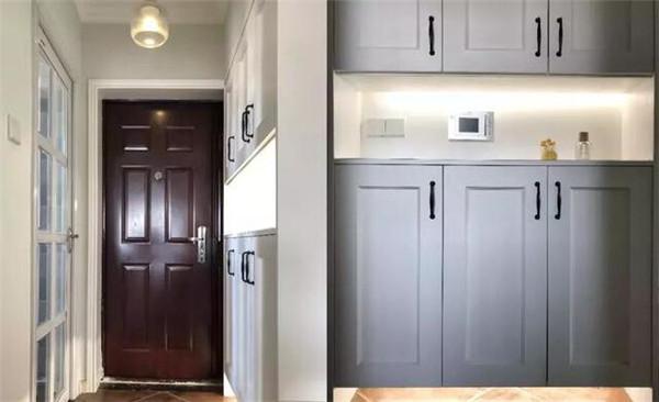 溧阳90平三室两厅装修案例 11万打造清新美式婚房