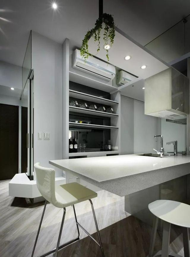 现代简约风格餐厨区装修设计