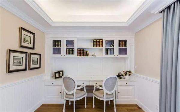 太仓300平别墅装修设计案例 经典美式轻奢温馨