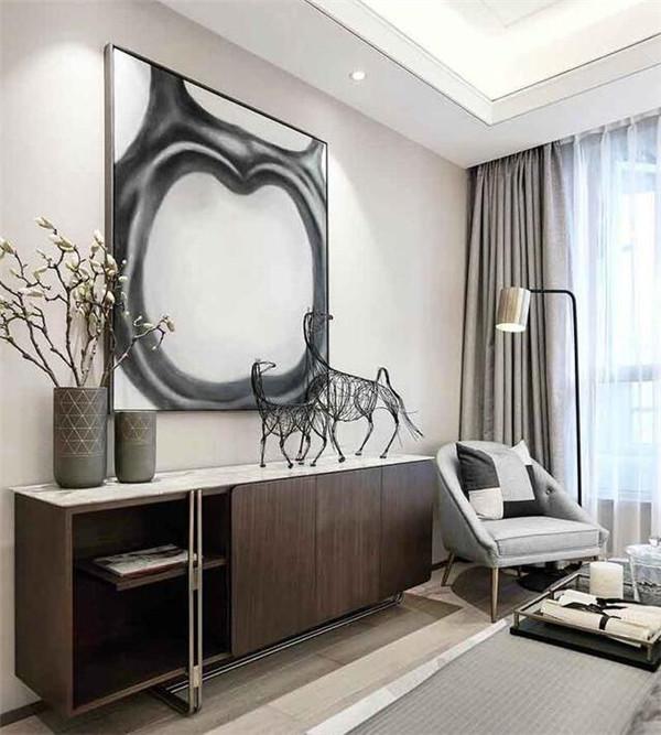 150平四室两厅装修案例 现代港式风时尚优雅