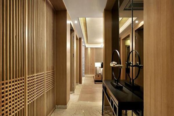 新中式風格玄關裝修設計
