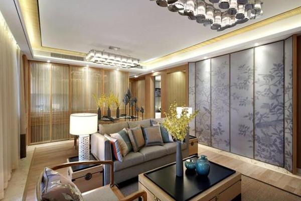 新中式風格客廳裝修設計