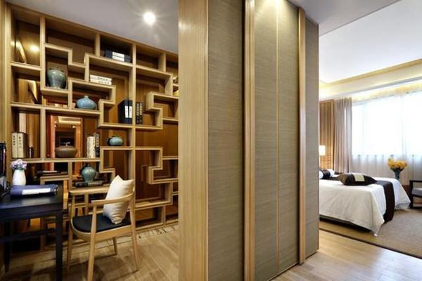新中式風格書房裝修設計