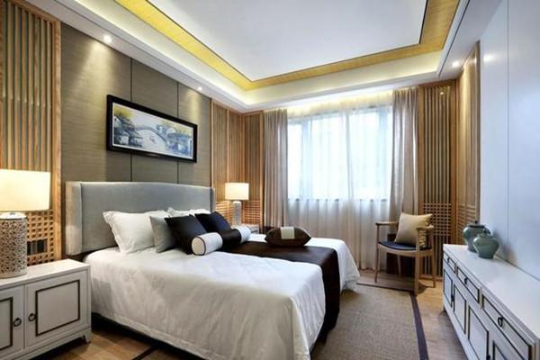 新中式風格臥室裝修設計