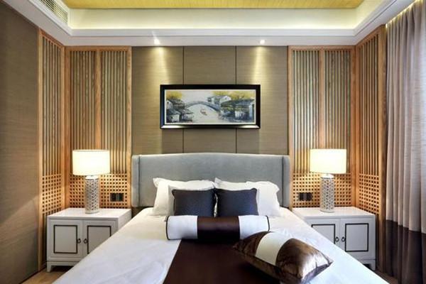 新中式風格臥室裝飾設計