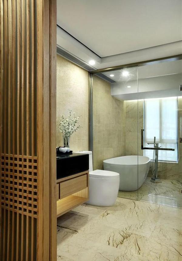新中式風格衛生間裝修設計
