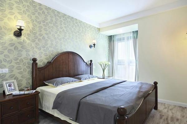 106㎡美式风格卧室装修设计