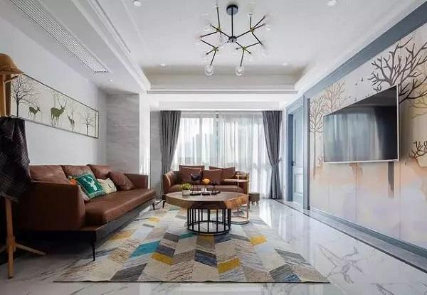 新洲客厅装饰细节展示