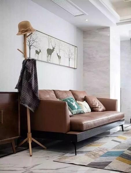新洲客厅沙发背景墙装修设计
