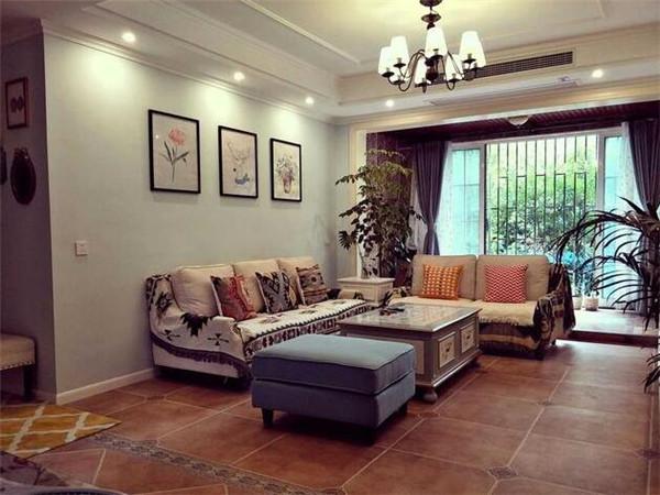 泰兴120平新房装修案例 12万装出温馨简美风