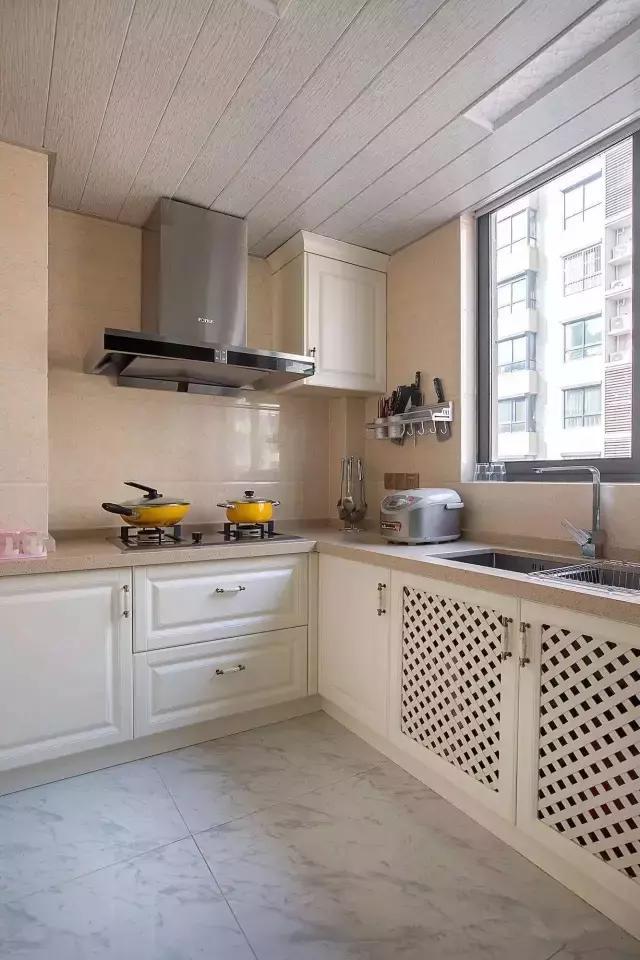 95㎡北欧风格厨房装修设计