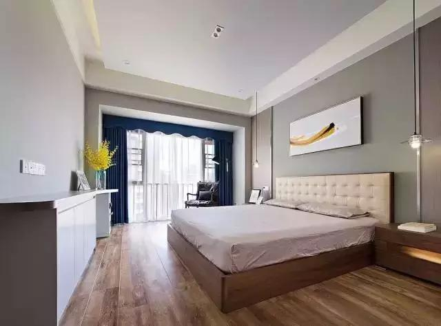 95㎡北欧风格卧室装修设计