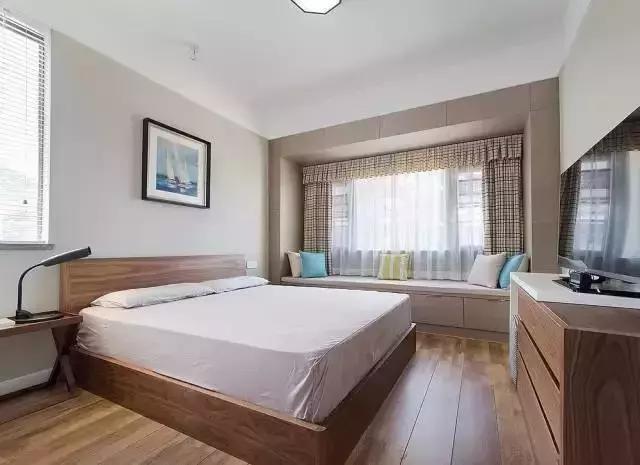 95㎡北欧风格次卧装修设计