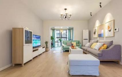 上虞120㎡三居室新房装修案例分享(前方高能,多图预警)