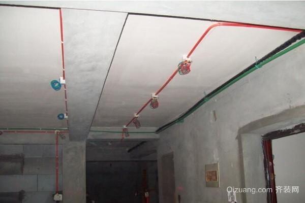 装饰公司电线展板