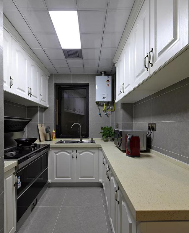 105㎡美式田园厨房装修设计