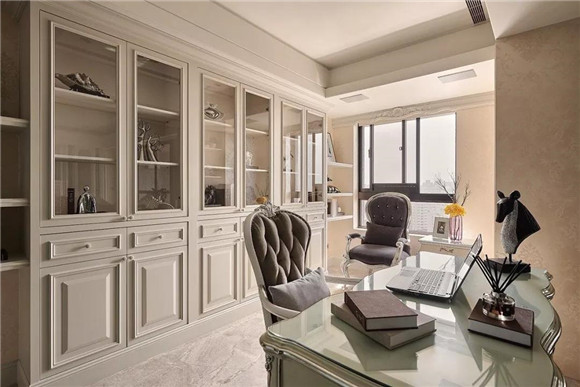 保定130平米三室两厅欧式装修  温馨有质感