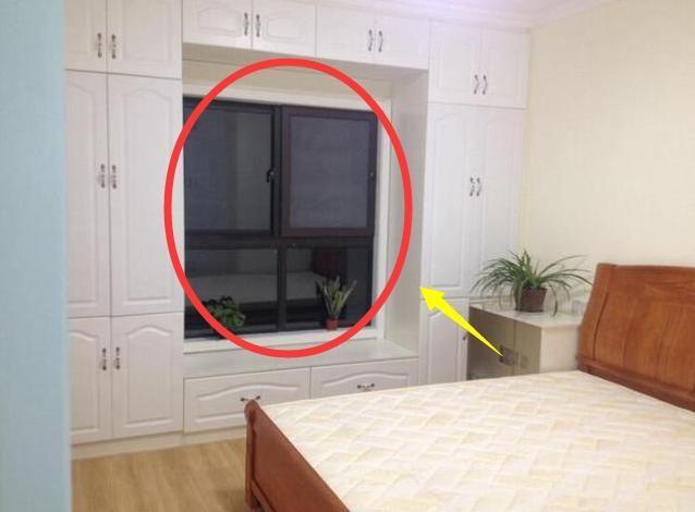 卧室带飘窗