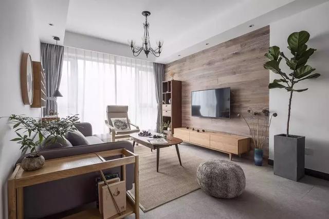 上虞装修125㎡北欧风二居室装修案例分享