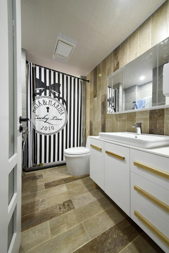 现代北欧风格卫浴装修设计