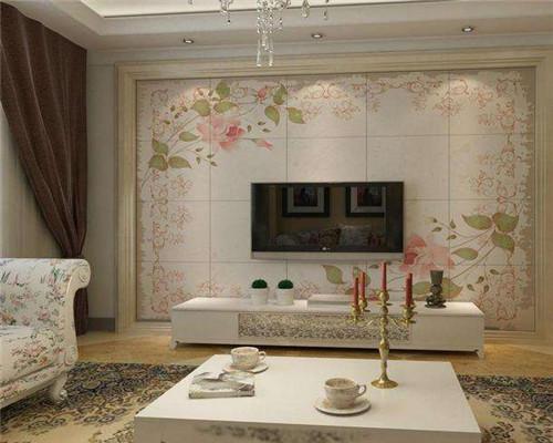 青岛客厅瓷砖装修效果图4
