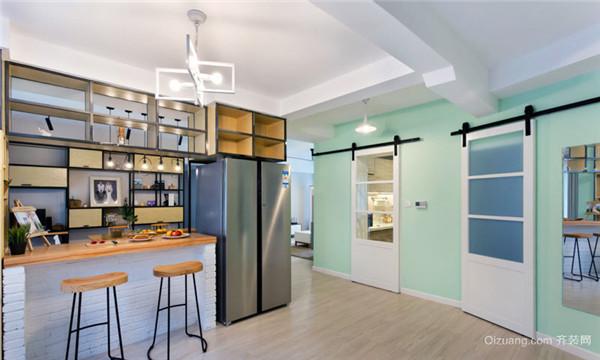 2018超人气小户型开放式厨房装修案例 你喜欢哪种