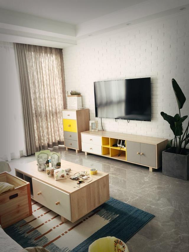 客厅的电视背景墙