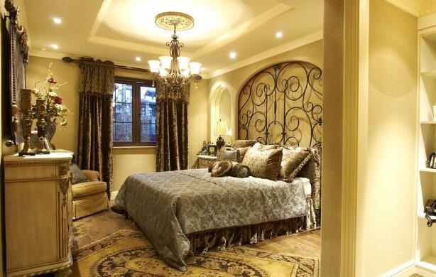美式小户型卧室装修效果图五