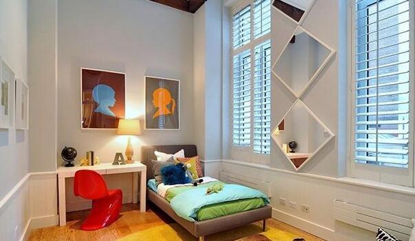 儿童房设计风格与色彩搭配