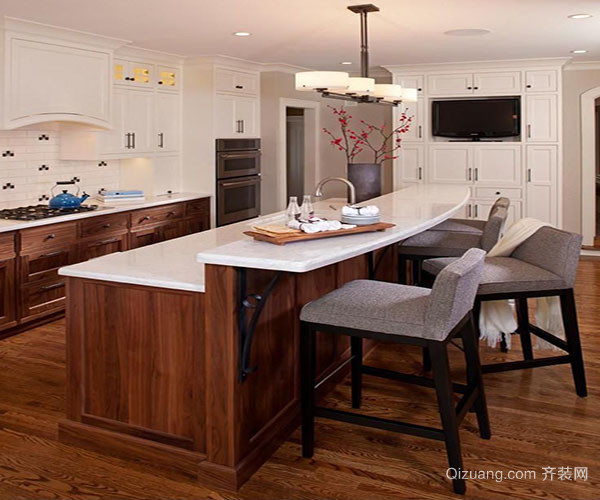 厨房吧台设计尺寸