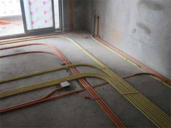 水电安装走线