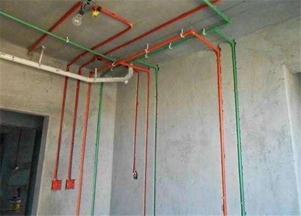水电安装效果图