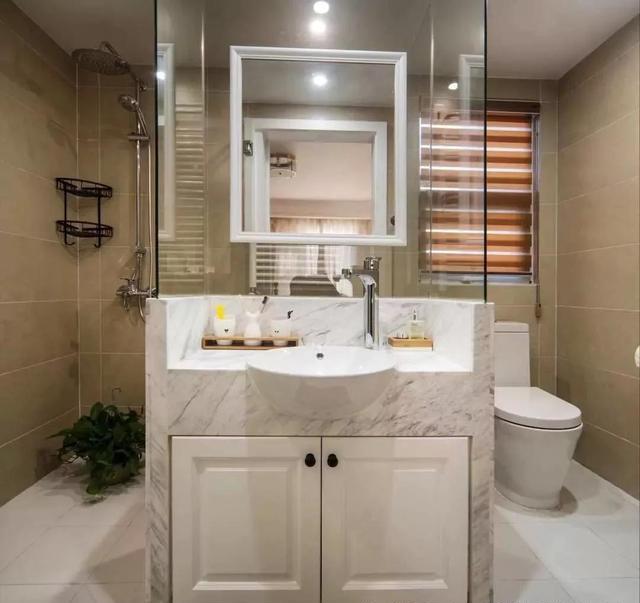 143㎡美式装修风格卫生间设计