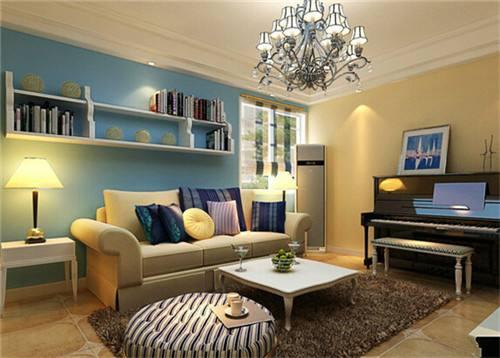 45平小户型房屋色彩搭配