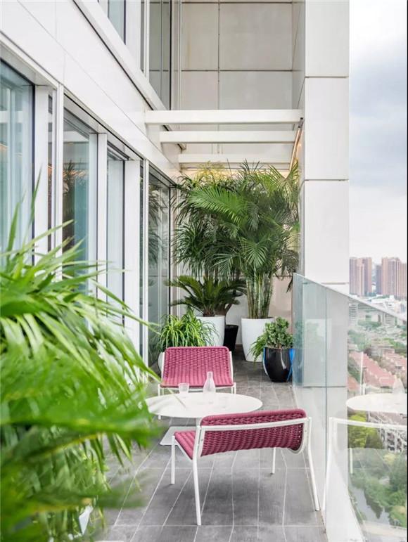 200㎡大型公寓混搭风格装修案例 充满活力而又不失温馨