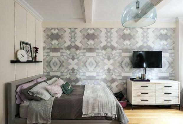 40平米单身公寓卧室装修设计