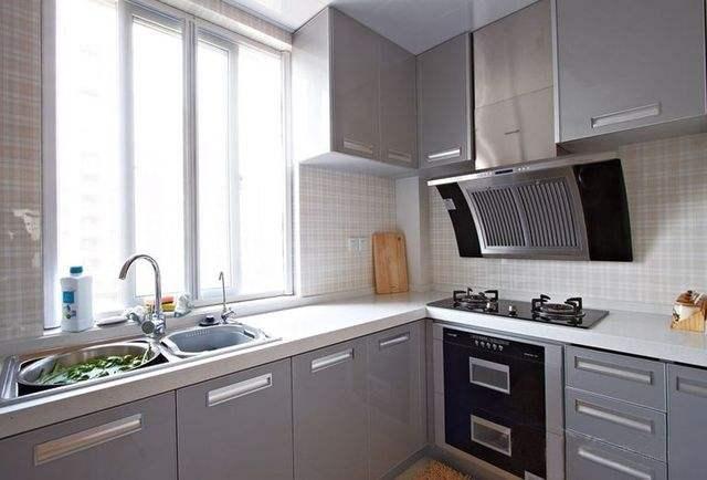 40平米小户型房子厨房橱柜预算
