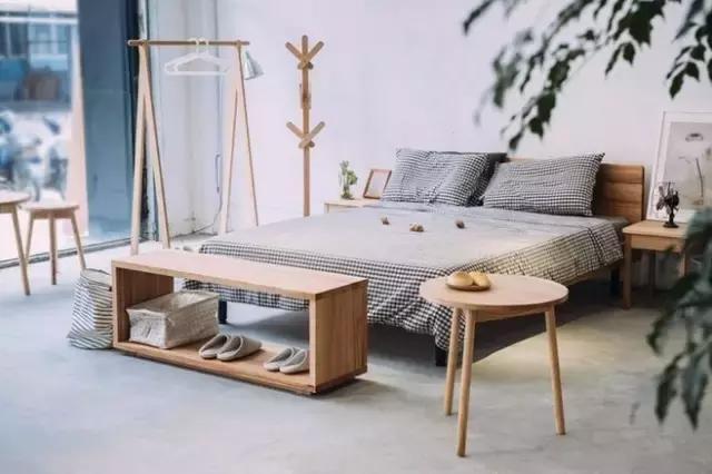 森林复古小清新卧室装修效果图