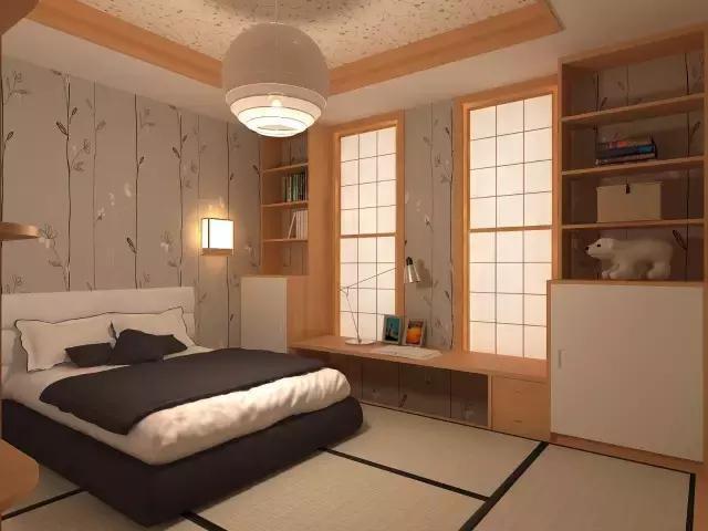 森林复古小清新卧室装修