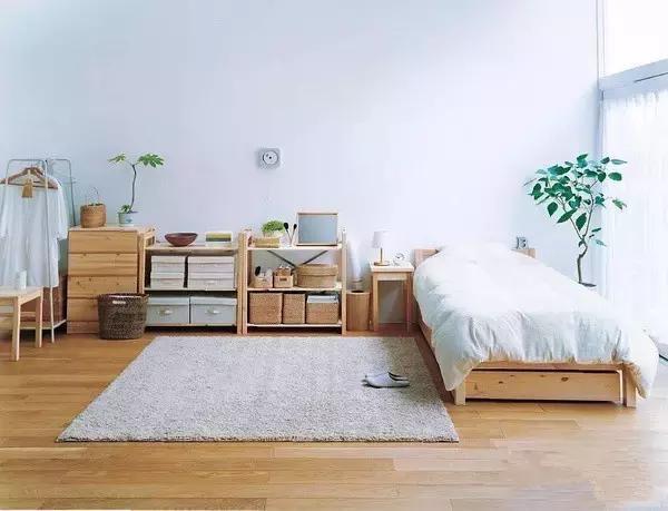森林复古小清新卧室装修案例