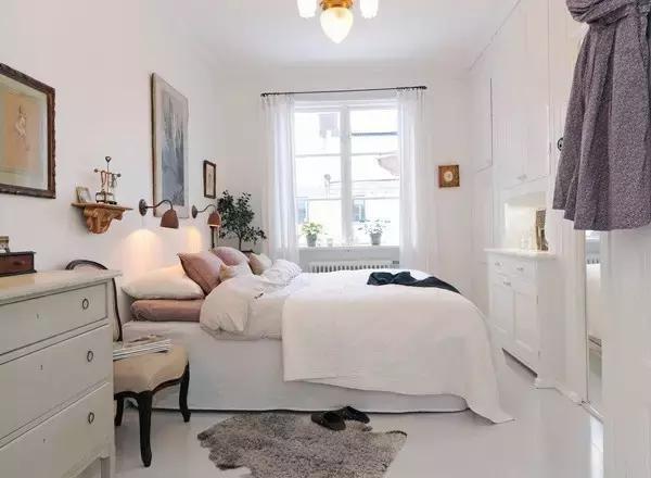 复古小清新卧室装修案例