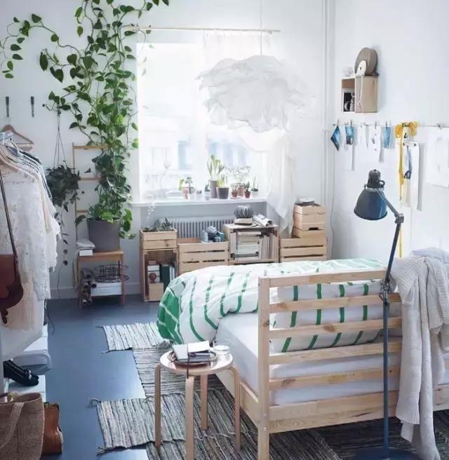 小清新风格卧室装修