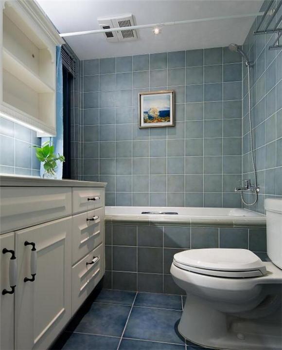 102㎡新房装修样板间卫浴间