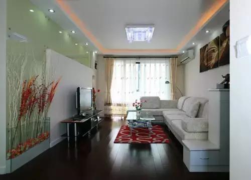 128平米三室二厅装修样板房