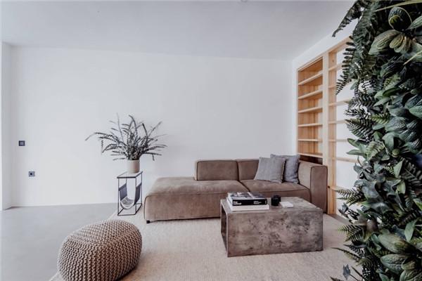 160平3居室简约装修案例  风格跟户型有很大关系