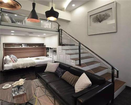 小户型复式公寓装修效果图4