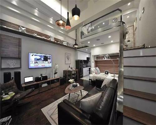 小户型复式公寓装修效果图6